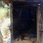 The Water Project: Shitirira Community, Peninah Spring -  The Inside Of The Latrine