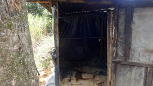 The Water Project:  The Inside Of The Latrine
