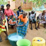 The Water Project: Mbau Community A -  Making Soap