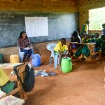 The Water Project: Nzalae Primary School -  Soap Training