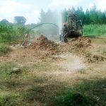 The Water Project: Kyamudikya Community -  Flushing