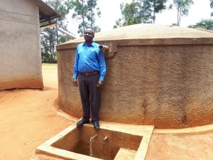 The Water Project:  Mr David Amuhaya