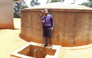 The Water Project:  Travilian Muyega