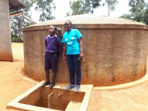 The Water Project:  Travilian Muyega And Edwin Amuhaya
