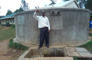 The Water Project:  Mr Alfred A Teacher At Rosterman Secondary School