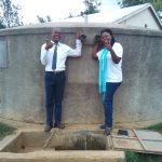 The Water Project: Rosterman Secondary School -  Thumbs Up For Reliable Water
