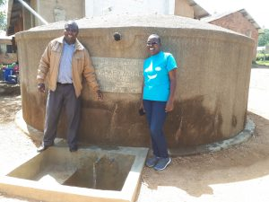The Water Project:  Albert Anjiji