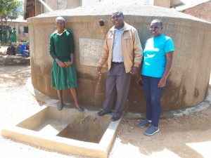 The Water Project:  Albert Anjiji And Ruth Ambia