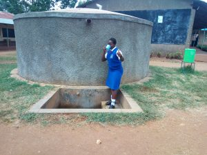 The Water Project:  Claire Amakove