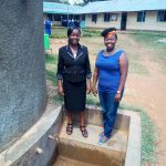 The Water Project: Matende Girls High School -  Deputy Head Gaudencia Takaundo With Wewasafo Staff Jacky Chelagat