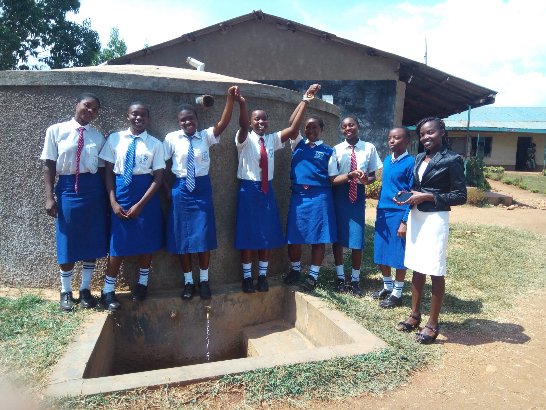 The Water Project : kenya4650-excited-for-clean-water