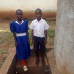The Water Project: Ebusiloli Primary School -  Venter Anyona And Another Student