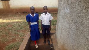 The Water Project:  Venter Anyona And Another Student