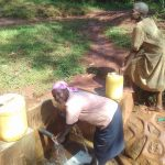 The Water Project: Visiru Community, Kitinga Spring -  Florence Makungu