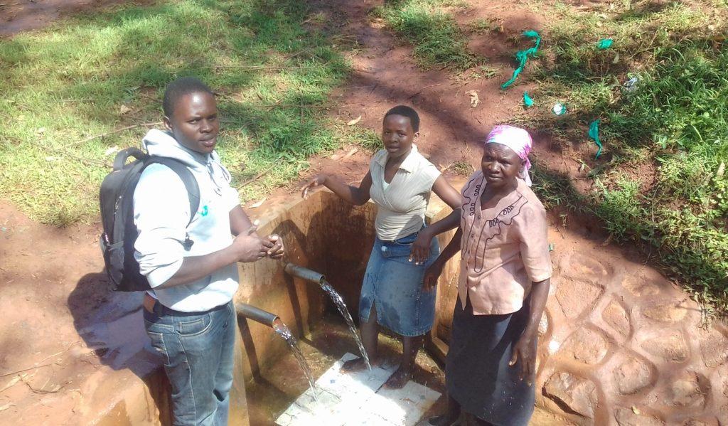 The Water Project : kenya4712-irene-jepnyango-and-florence-makungu