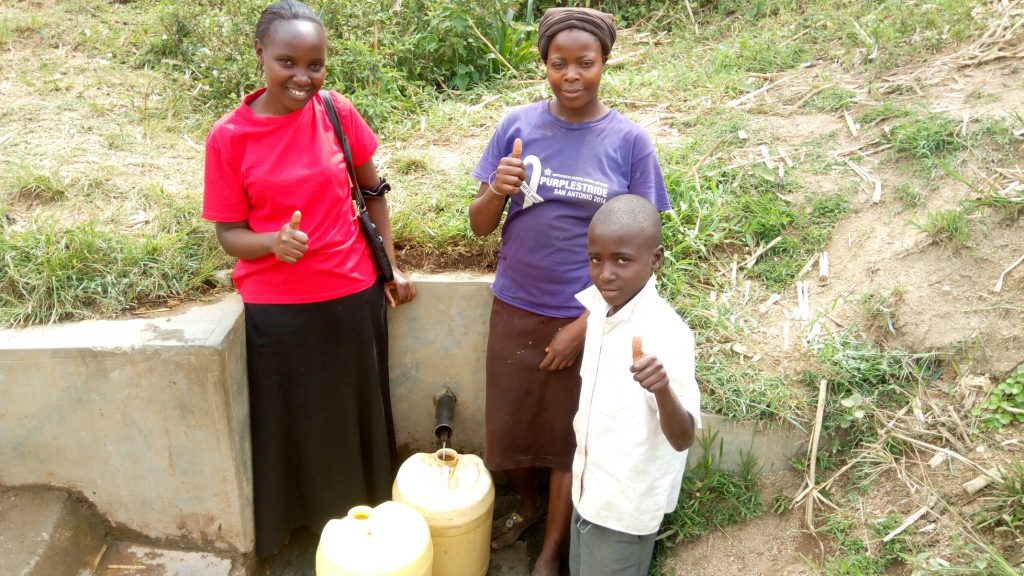 The Water Project : kenya4713-thumbs-up-for-water
