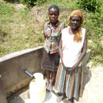 The Water Project: Shikoti Community -  Jenipher Makokha And Josephine Muyuka