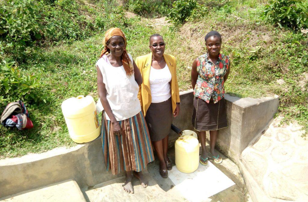 The Water Project : kenya4717-posing-at-spring