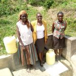 The Water Project: Shikoti Community -  Posing At Spring