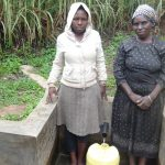 The Water Project: Murumba Community -  Sophia Amurale And Margaret Atieno