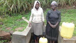 The Water Project:  Sophia Amurale And Margaret Atieno