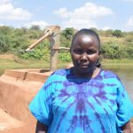 The Water Project: Mbuuni Community A -  Immaculate Muia