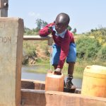 The Water Project: Mbuuni Community A -  Thumbs Up