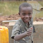 The Water Project: Kaani Community B -  Caleb Wambua