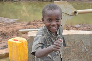 The Water Project:  Caleb Wambua