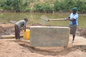 The Water Project:  Pumping Well