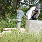 The Water Project: Kivani Community A -  Pumping Well