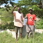 The Water Project: Kivani Community -  Thumbs Up For Reliable Water