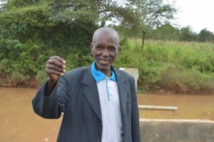 The Water Project:  Cosmas Wambua