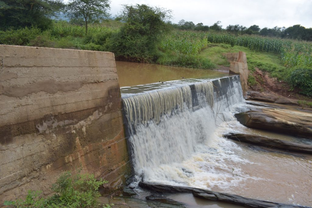The Water Project : kenya4765-sand-dam
