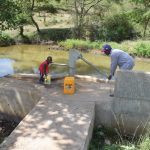 The Water Project: Ilinge Community -  Fetching Water