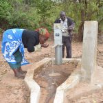 The Water Project: Nzung'u Community C -  Pumping Water