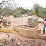 The Water Project: Ikulya Community A -  Pumping Well