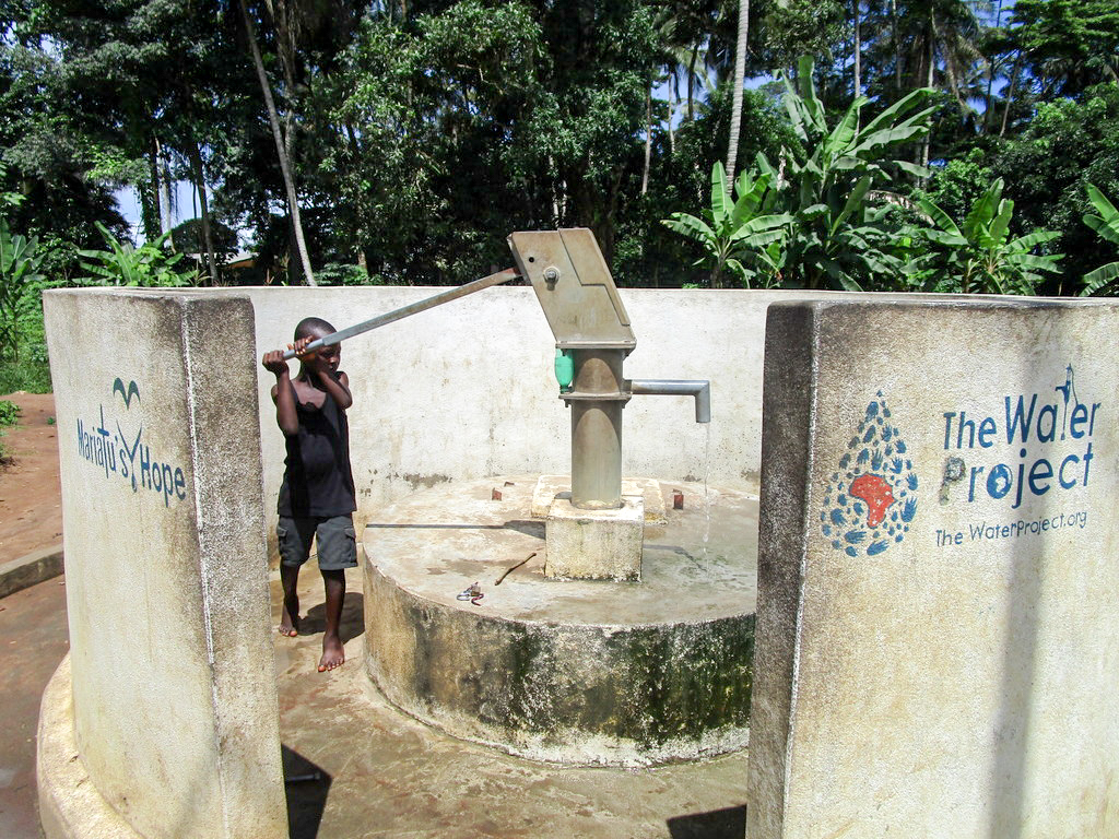 The Water Project : 1-sierraleone5114-a-year-with-water