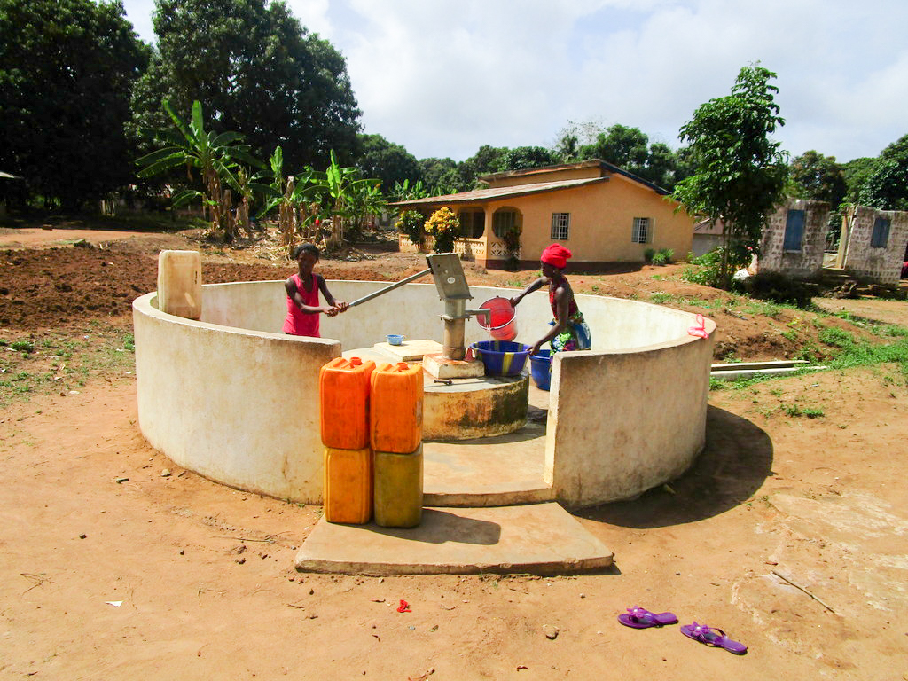 The Water Project : 1-sierraleone5122-a-year-with-water