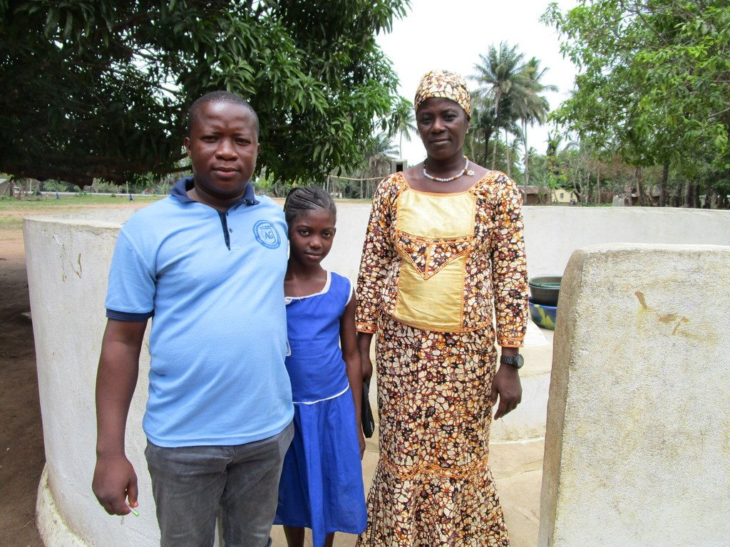 The Water Project : 1-sierraleone5126-a-year-with-water