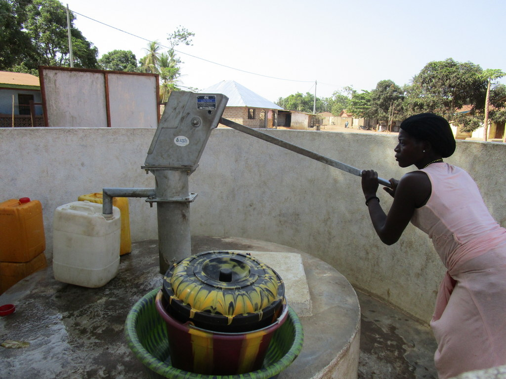 The Water Project : 1-sierraleone5127-a-year-with-water