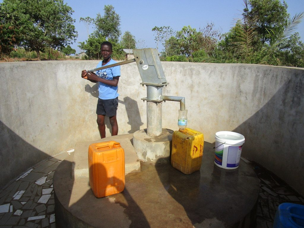 The Water Project : 1-sierraleone5128-a-year-with-water