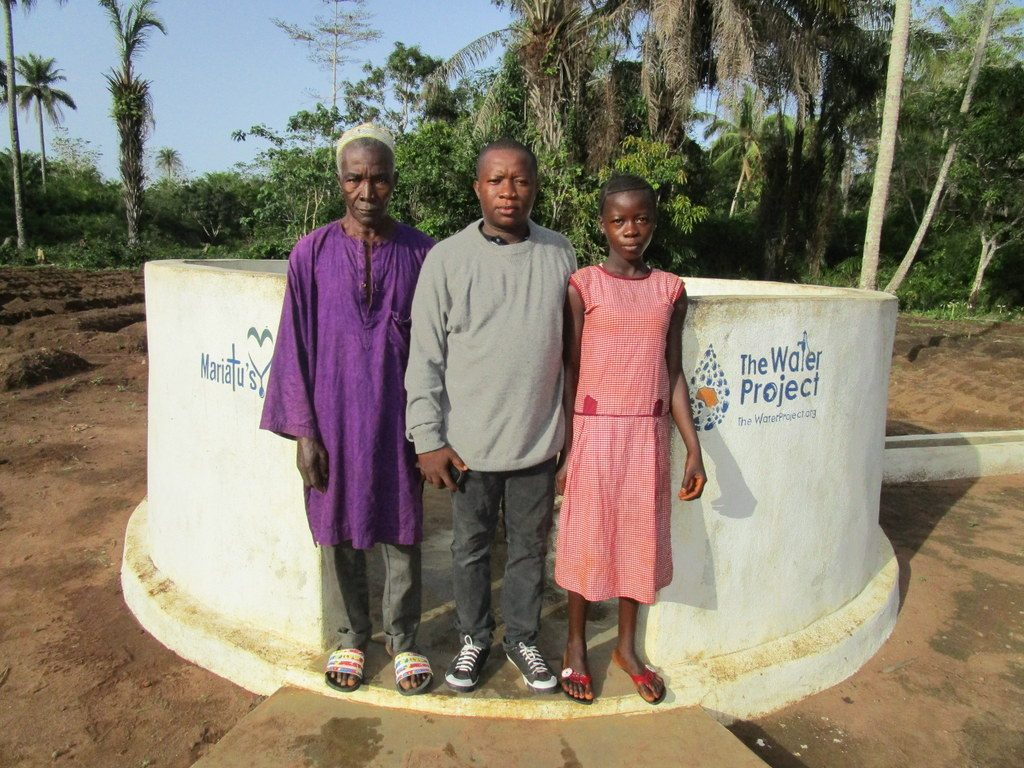 The Water Project : 1-sierraleone5130-a-year-with-water