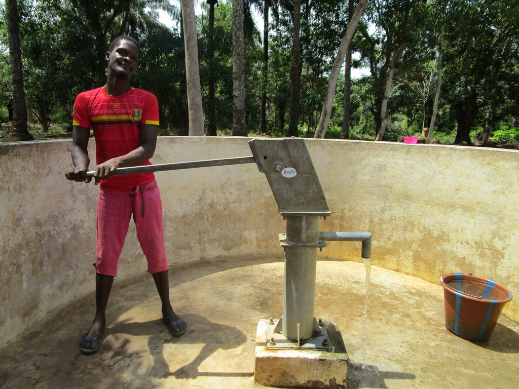 The Water Project : 1-sierraleone5133-a-year-with-water