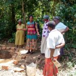 The Water Project: Emachembe Community, Hosea Spring -  Latrine Training