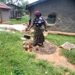 The Water Project: Luyeshe Community, Matolo Spring -  Vulenywa Feeding Her Chicks