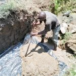 The Water Project: Emachembe Community -  Spring Foundation