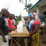 The Water Project: Mabendo Community -  Making Handwashing Stations