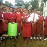 The Water Project: Shikhondi Girls Secondary School -  Handwashing Practicals