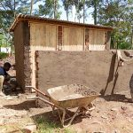 The Water Project: Madegwa Primary School -  Latrine Construction